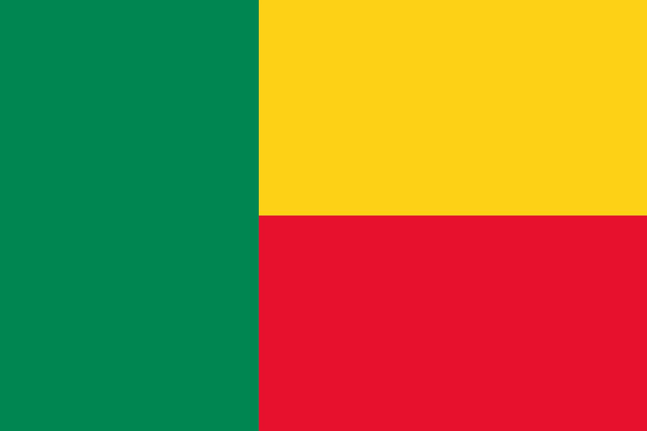 Benin Tourist Visa (Benin Flag)