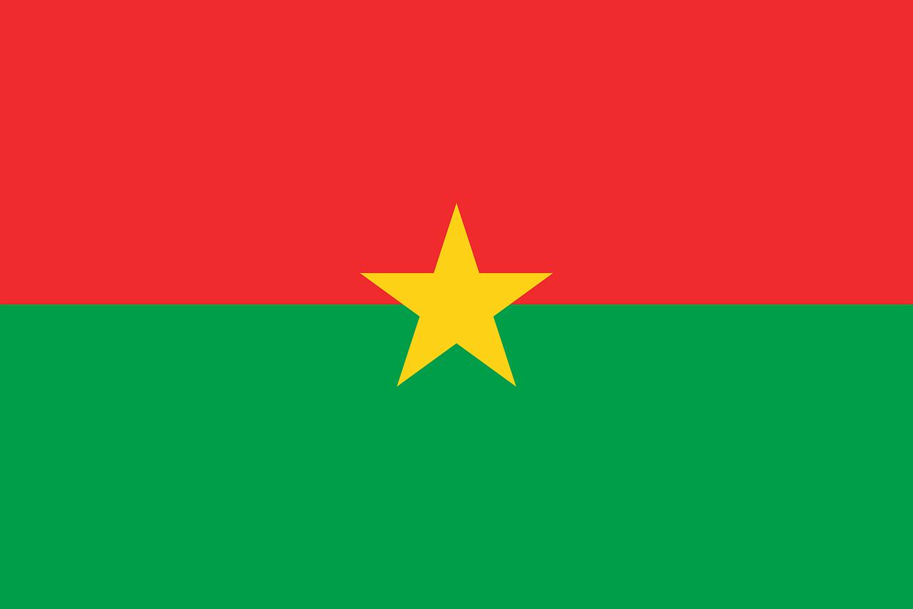 Burkina Faso Tourist Visa (Burkina Flag)