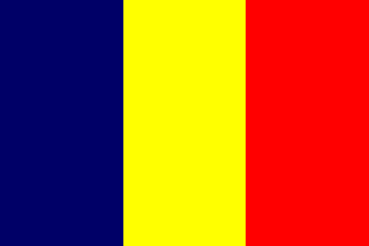 Chad Business Visa (Chad Flag)
