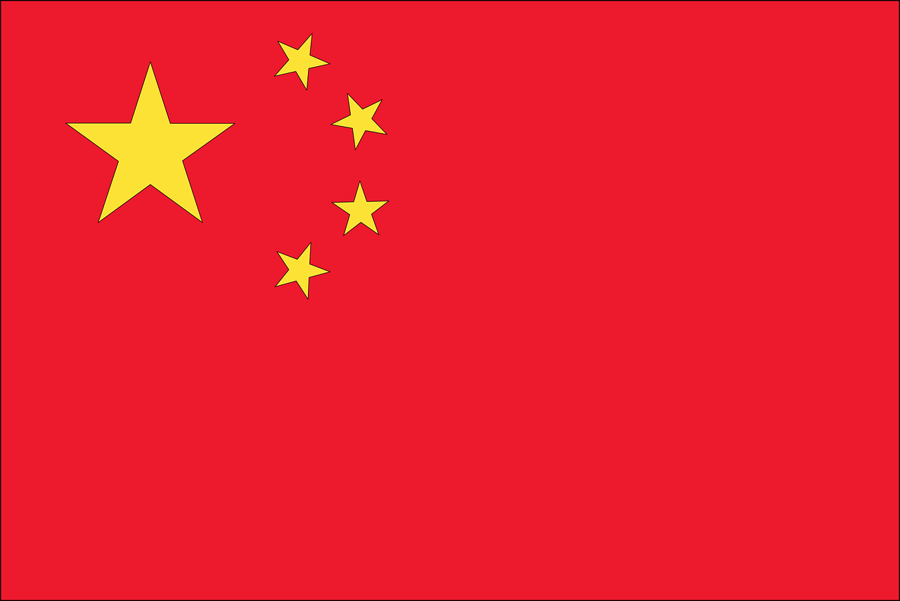 China Business Visa (China Flag)