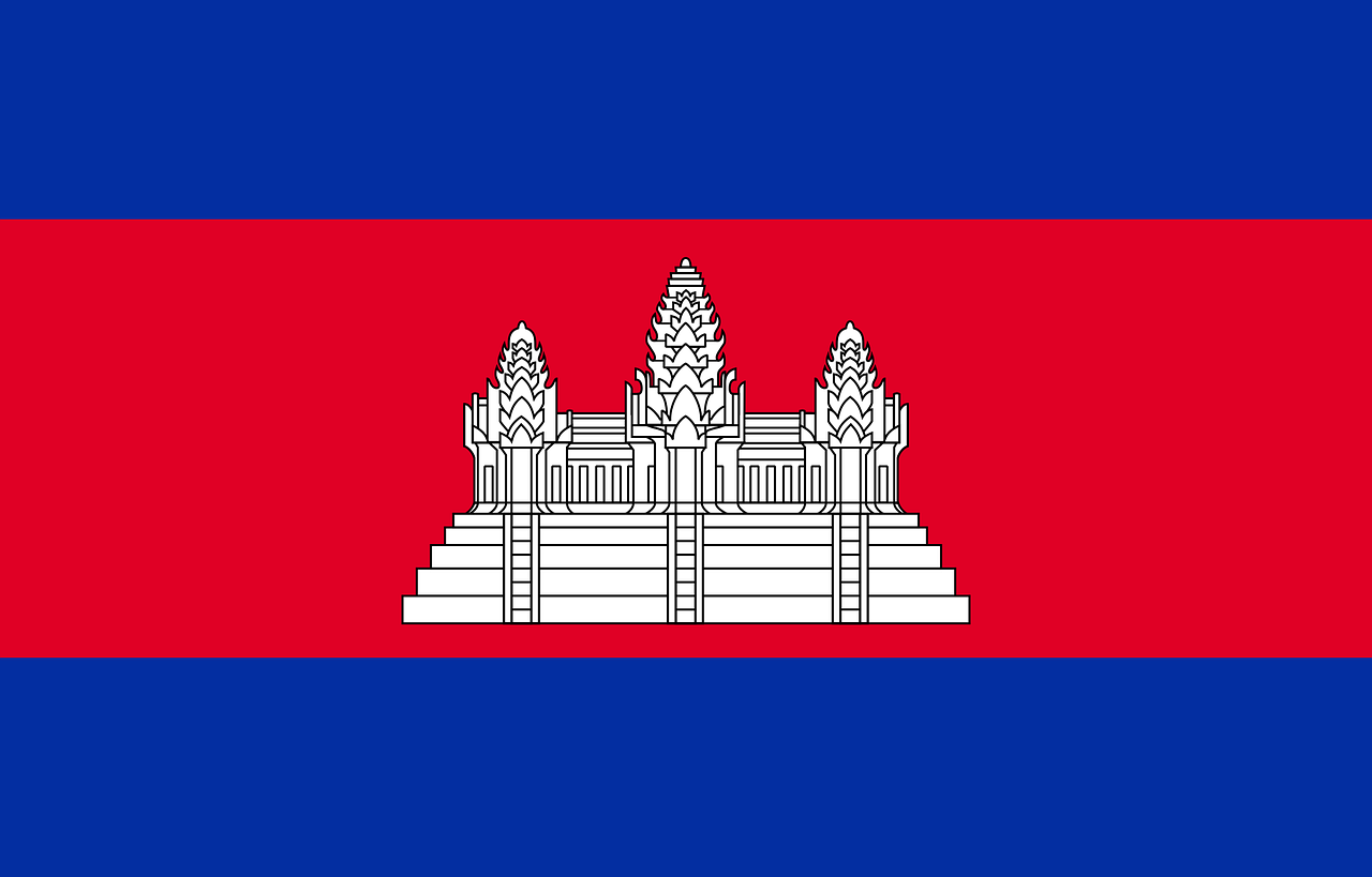 Cambodia Business Visa (Cambodia Flag)