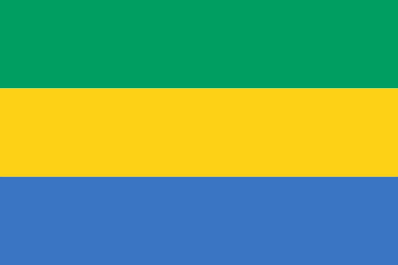 Gabon Business Visa (Gabon Flag)