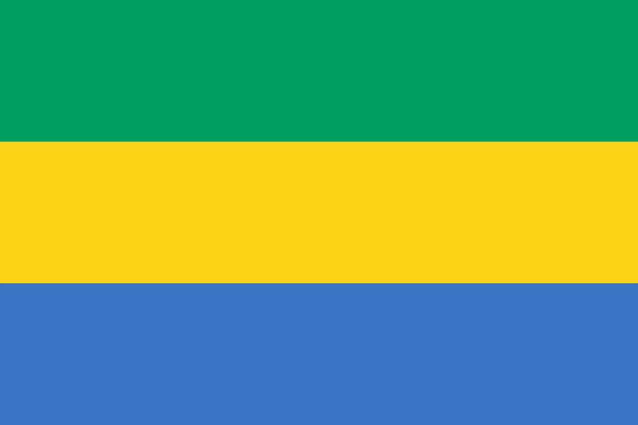 Gabon Tourist Visa (Gabon Flag)