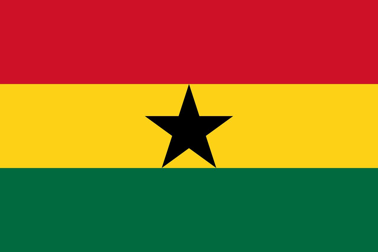 Ghana tourist visa (ghana flag)