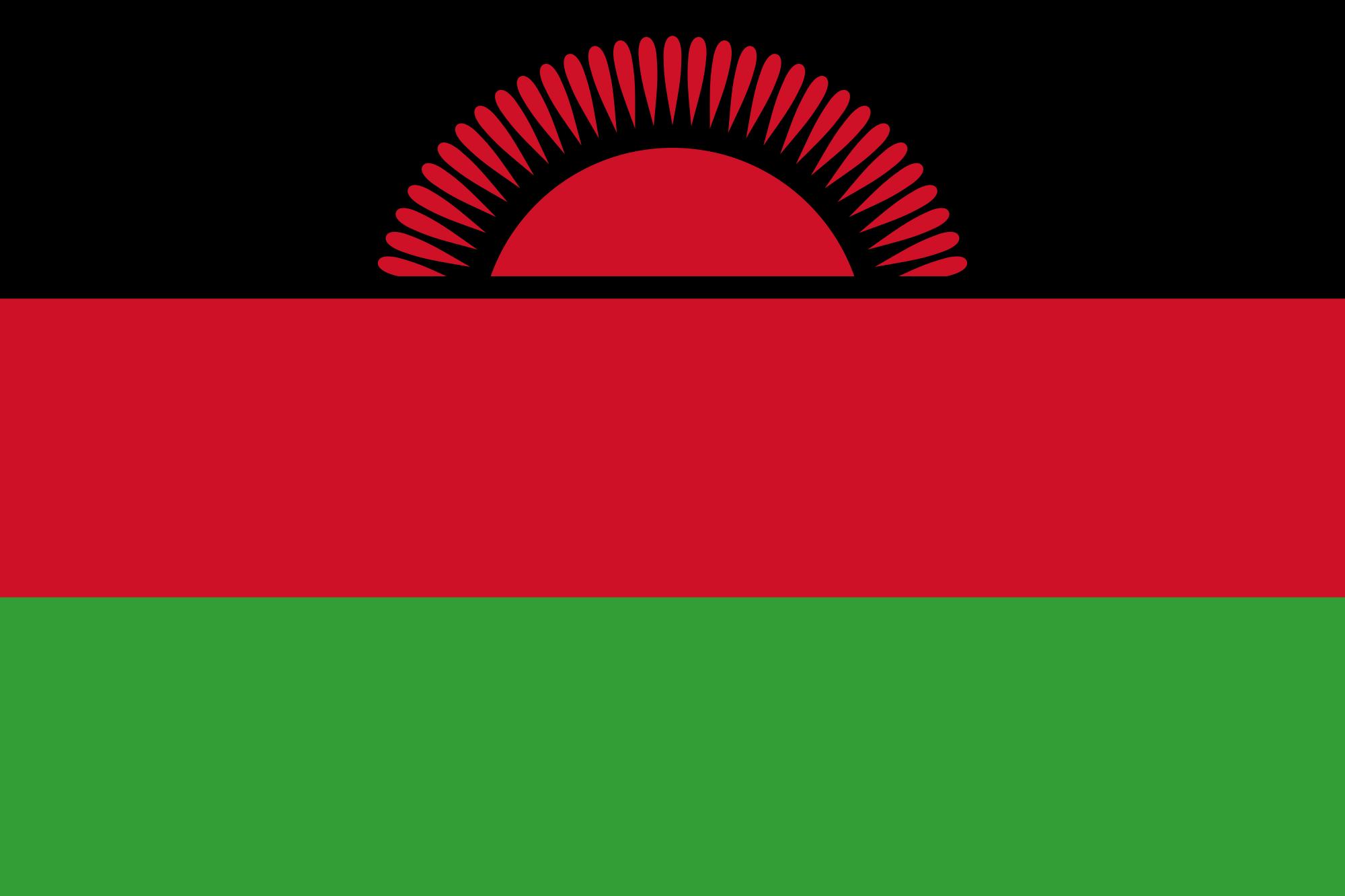 Malawi Tourist Visa (Malawi Flag)