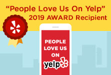 People Love Us on YELP! 5 Star Reviews